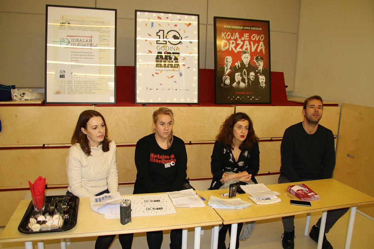 Bogati program Art-kina Croatia povodom deset godina rada
