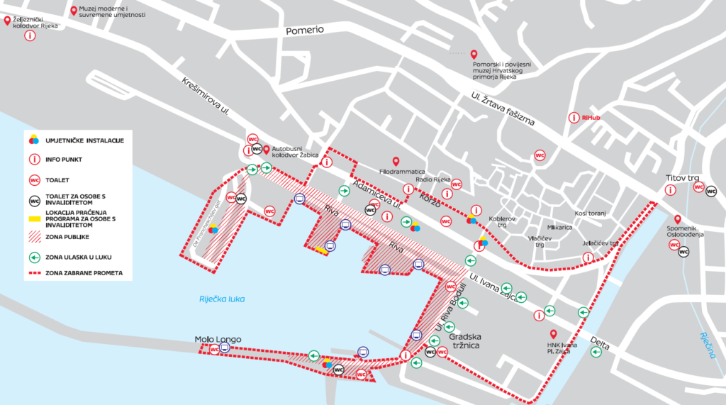 Mapa otvaranja EPK
