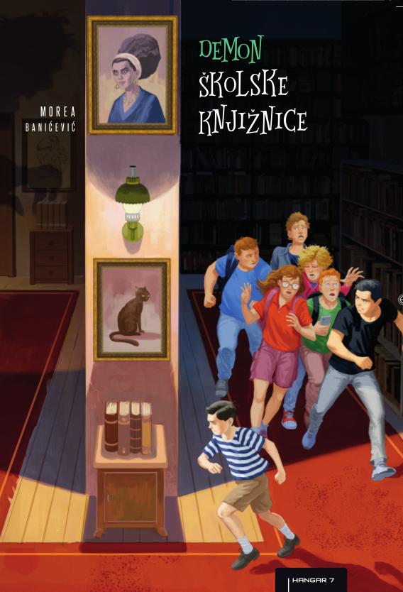 Dječji roman Demon školske knjižnice