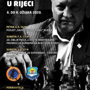 Bivši šahovski prvak Anatolij Karpov gost Cvijeta Mediterana 2020