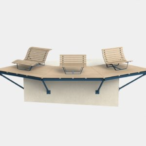 Dizajnerska oprema za plažu Svežanj