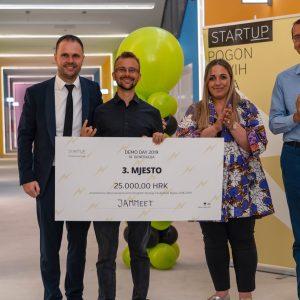 Matija Lukanić nagrađeni startupovac