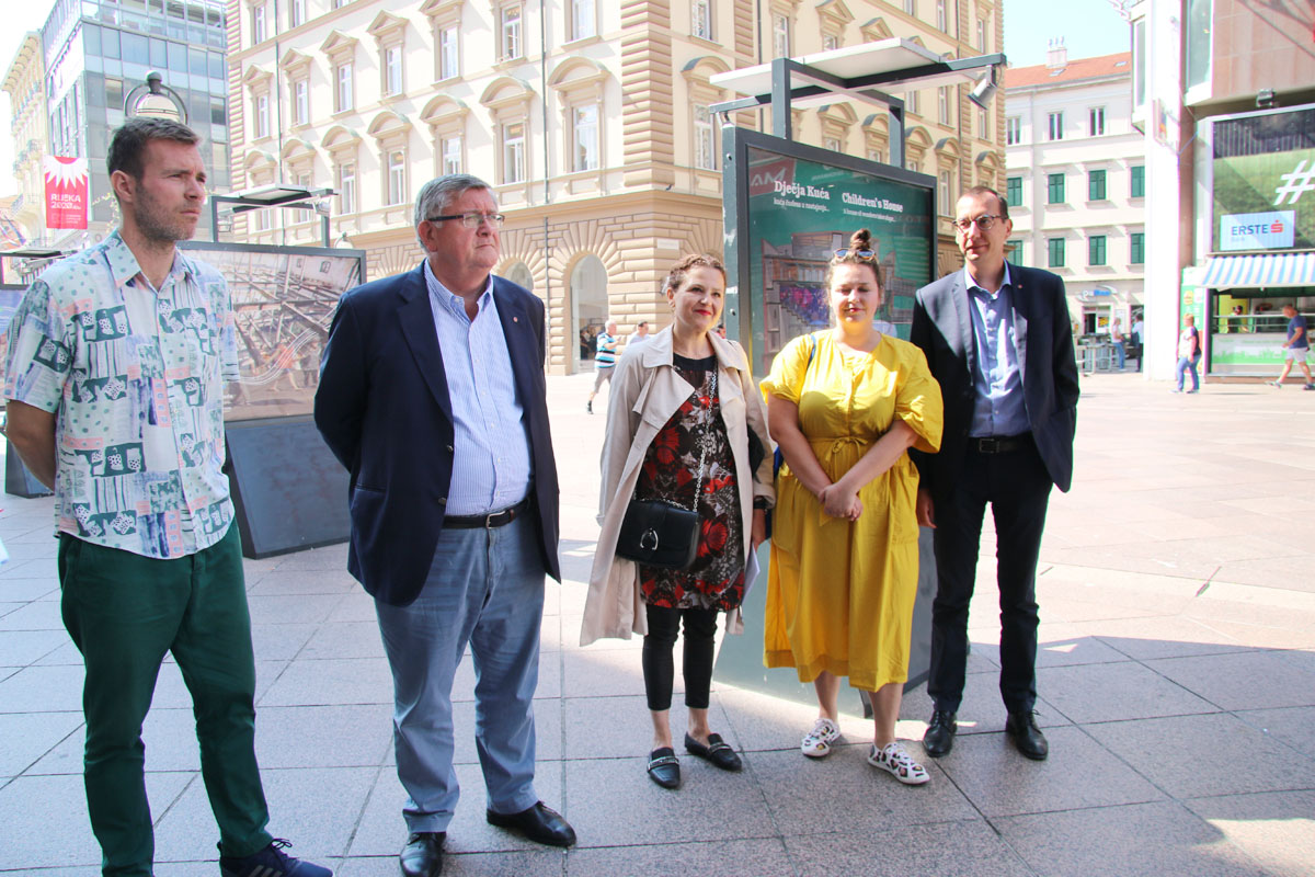 Ivan Šarar, Vojko Obersnel, Irena Kregar-Šegota, Jelena Milić i Marko Filipović