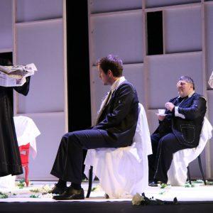 """Prizor iz predstave """"Vježbanje života – drugi put"""", 4. čin - Mafalda"""