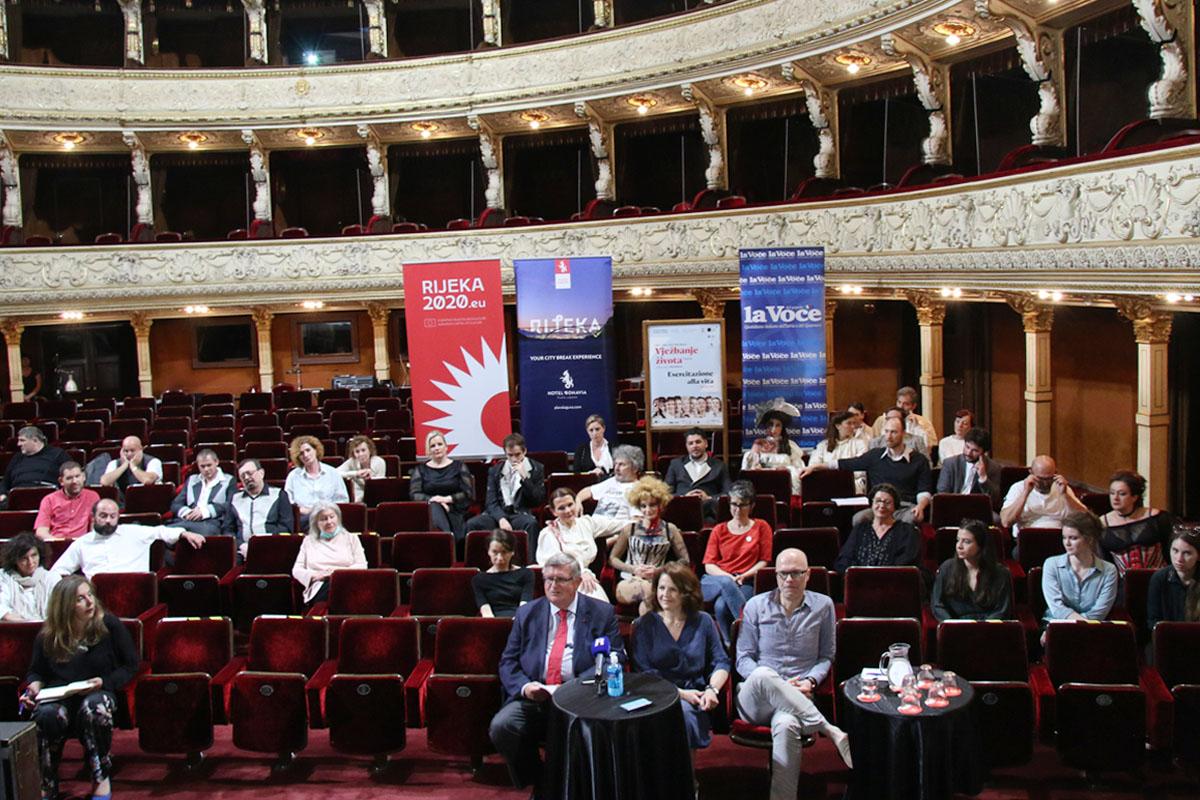 Konferencija za medije povodom premijere predstave Vježbanje života - drugi put