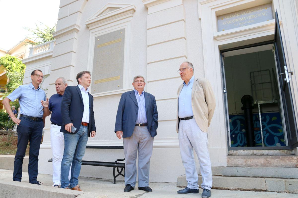 Marko Filipović, Nikola Ivaniš, Andreaj Poropat, Vojko Obersnel i Andrej Marochini