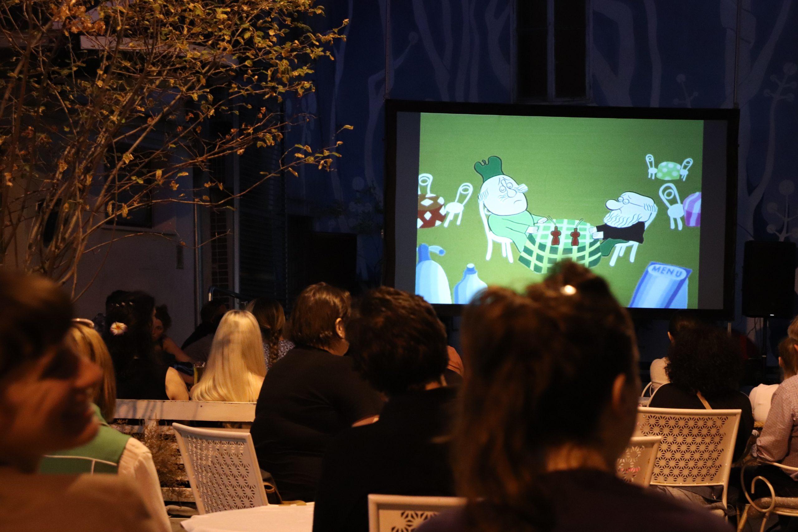 Crtani filmovi Baltazar gledali su se na Čajnom trgu