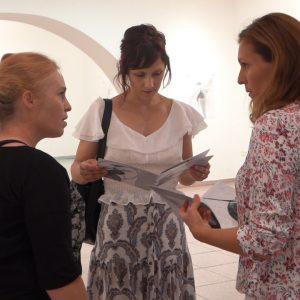 """Otvorena samostalna izložba Ane Pavičić pod nazivom """"Ženski lik u pokretu"""