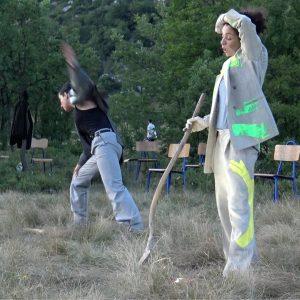 """Održana predstava """"Rad panike"""" skupine BAD.co na Grobničkom polju"""