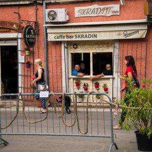 Caffe bar Skradin / Foto: Kristijan Vučković