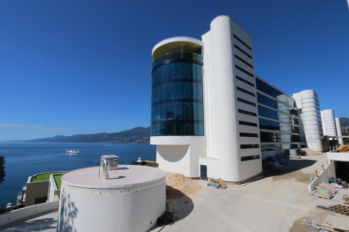 Gradilište hotela Hilton