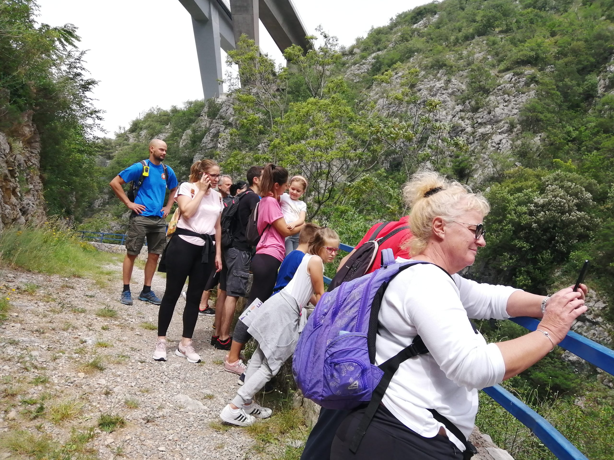 Šetnja kanjonom Rječine / Foto: MO Hartera, press