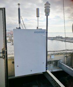 AirPointer za mjerenje kvalitete zraka na mjernoj stanici u riječkoj luci