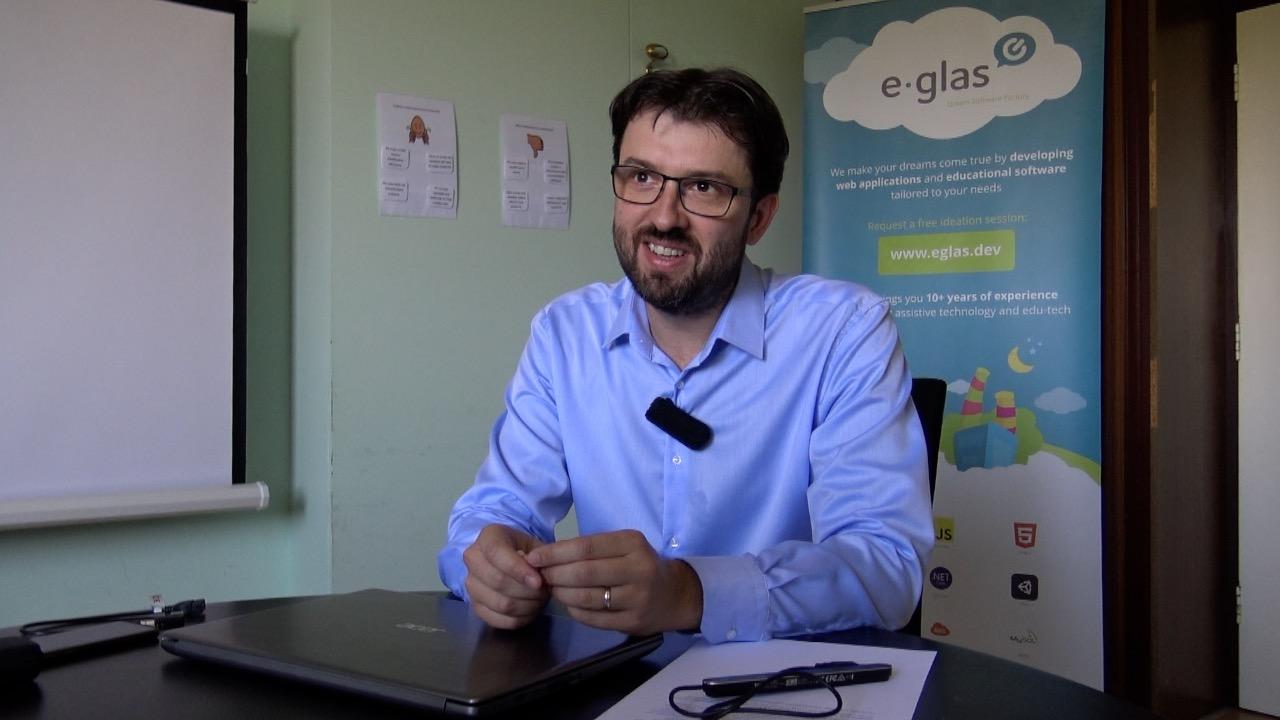 Miroslav Vrankić, direktor tvrtke E-Glas