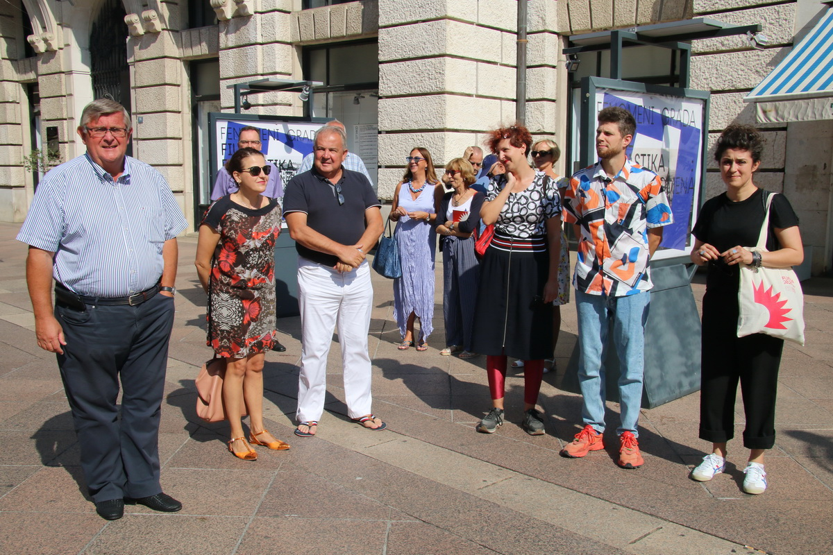 Vojko Obersnel, Irena Kregar Šegota, Nikola Ivaniš, Ida Križaj Leko, Renato Stanković i Morana Matković