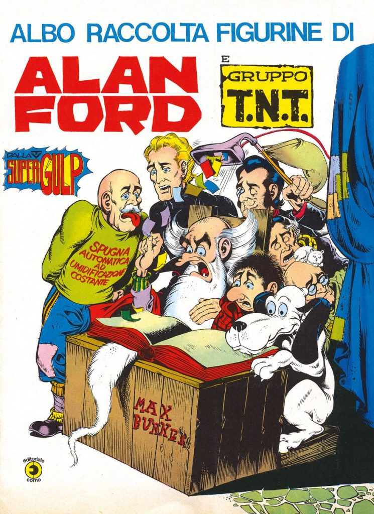 Alan Ford / © 2020 By Max Bunker – used by permission – World copyright by Max Bunker / © 2020 1000VolteMeglio Publishing