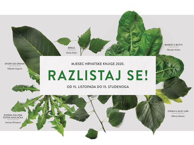 Mjesec hrvatske knjige vizual