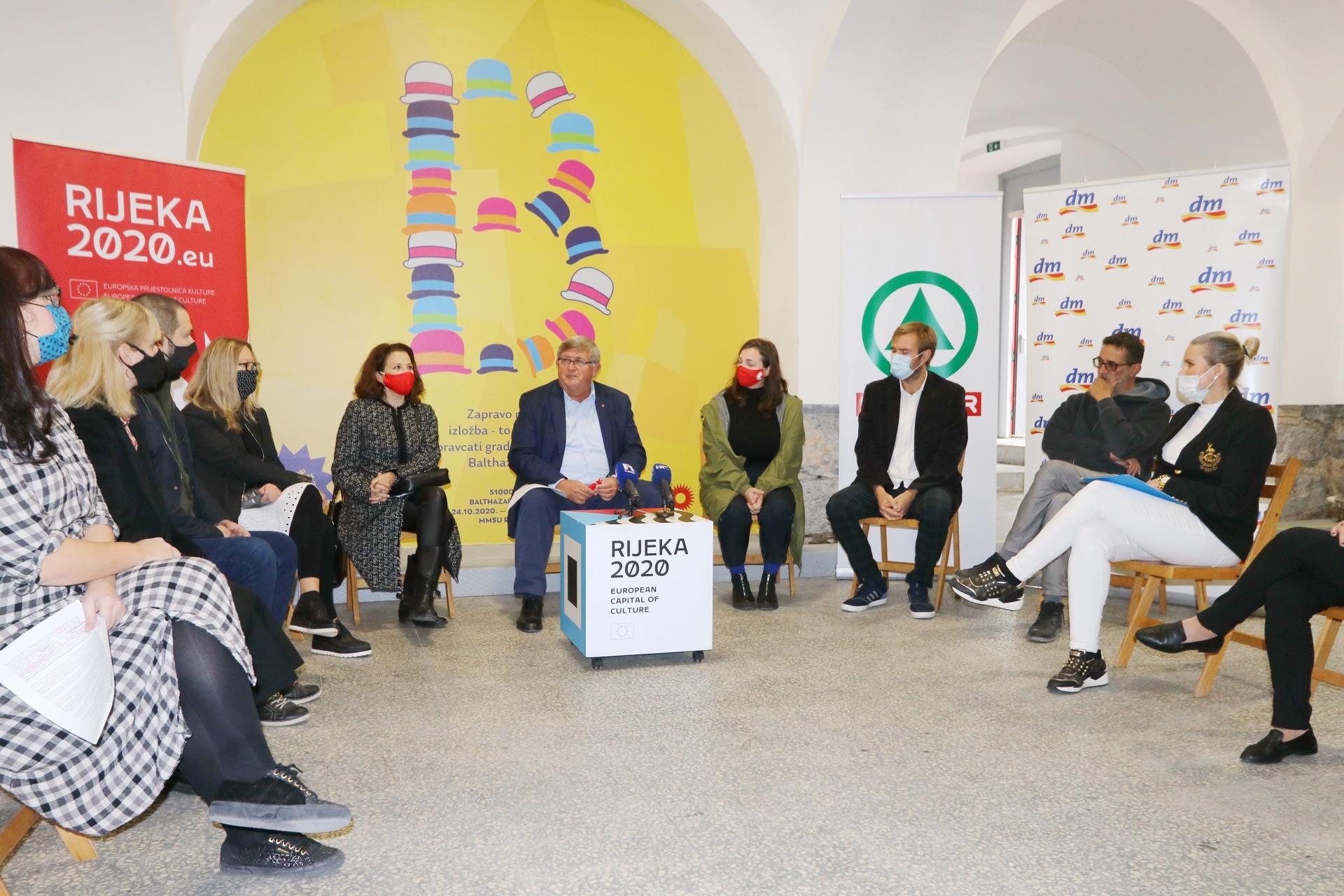 Najava izložbe Balthazargrad