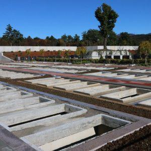 Obilazak novoizgrađenih grobnih mjesta na groblju Drenova