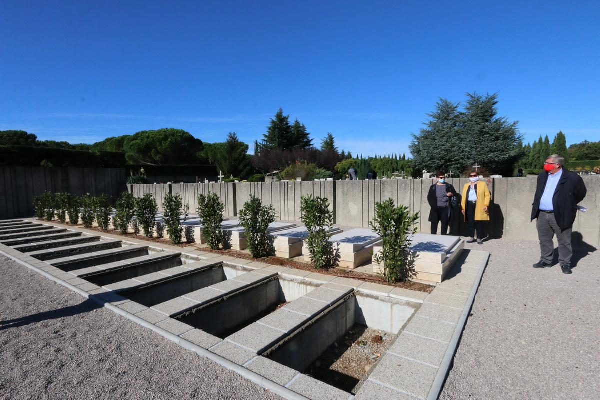 Novoizgrađena Aleja hrvatskih branitelja na groblju Drenova
