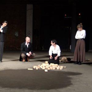 Prizor iz predstave Sjećanje gradova