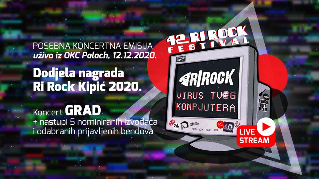 Vizual za 42. Ri Rock festival