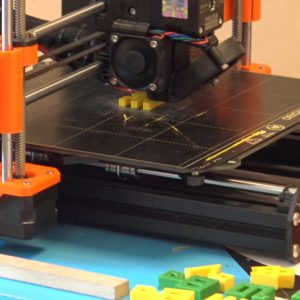 Demonstracija 3D printa na manifestaciji Benja