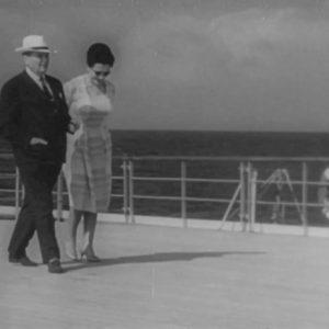 Tito i Jovanka Broz - prizor iz filma Galeb