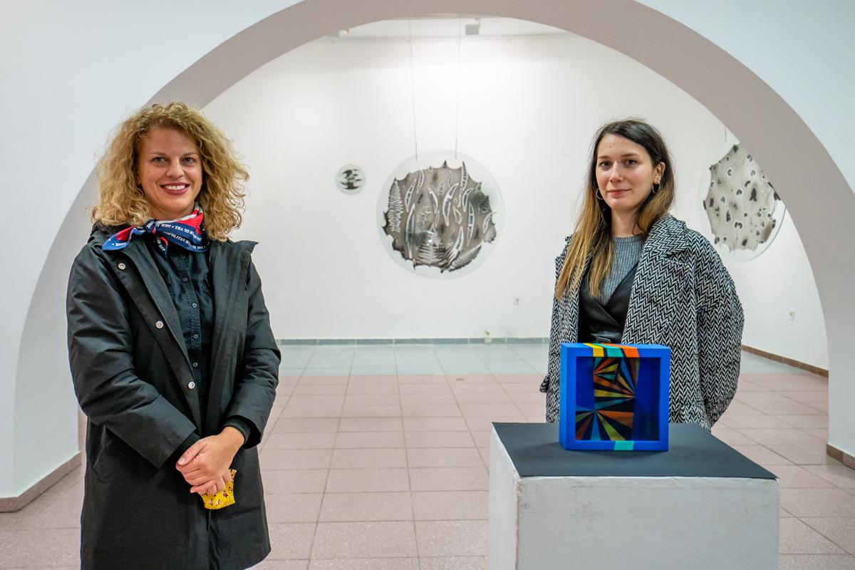 Ljiljana Barković i Kristina Čehulić