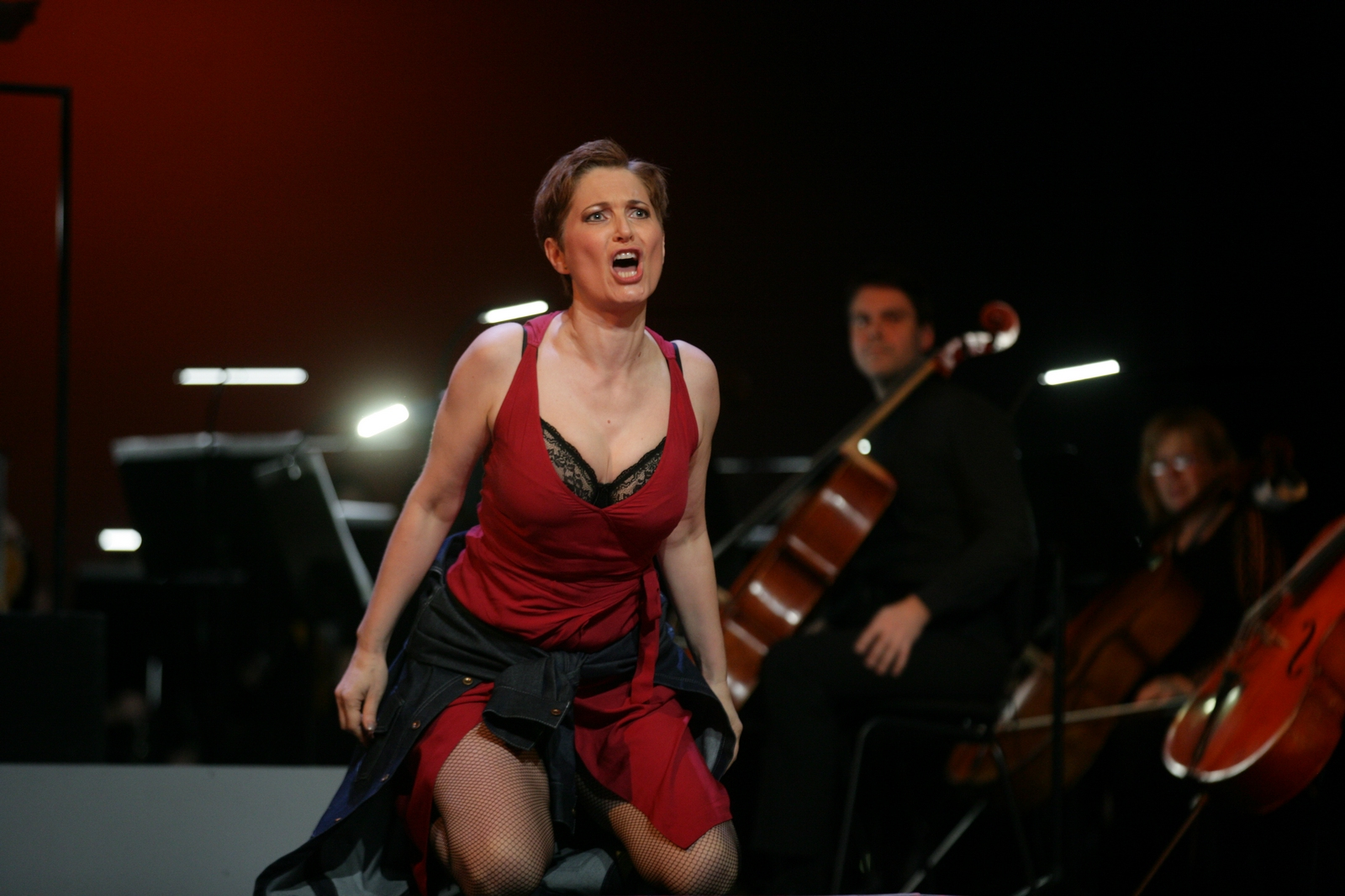 Michela Selinger u ulozi Carmen / Foto: Dražen Šokčević