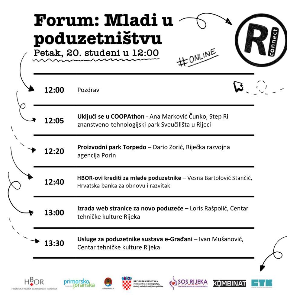 Satnica foruma Mladi u poduzetništvu