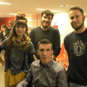 Tino Vodanović s kolegama studentima