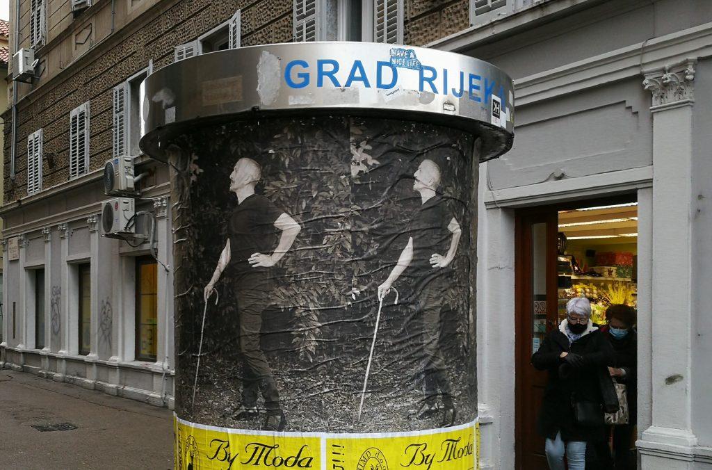 Dannunzieggiare na riječkim ulicama / Foto: Rijeka 2020