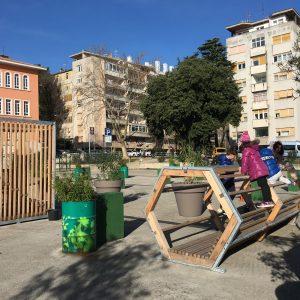 Intervencija na Klobučarićevom trgu / Foto Urbani separe