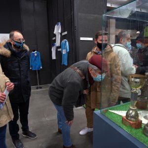 S otvorenja izložbe memorabilija o nogometnom klubu Rijeka