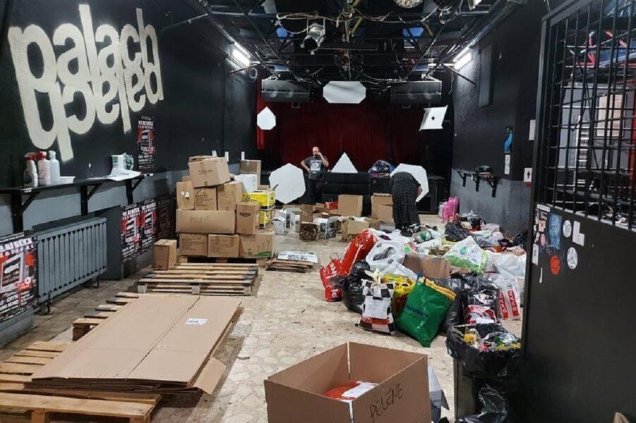 U Palachu organizirano kontinuirano prikupljanje donacija za područja zahvaćena potresom