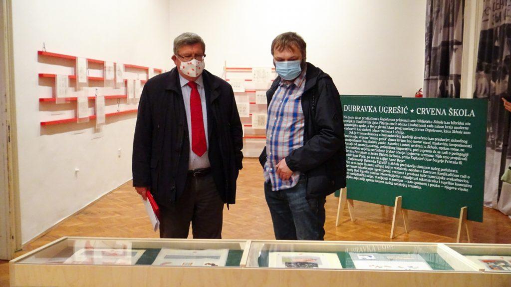 Otvorenje izložbe Crvena škola Dubravke Ugrešić (1)