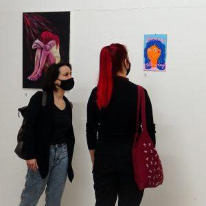 Umjetnički impulsi protiv nasilja u Galeriji SKC (2)