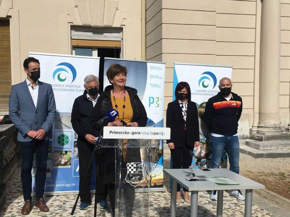 Proglašenje sportskih laureata ispred Guvernerove palače / Foto: Primorsko-goranska županija