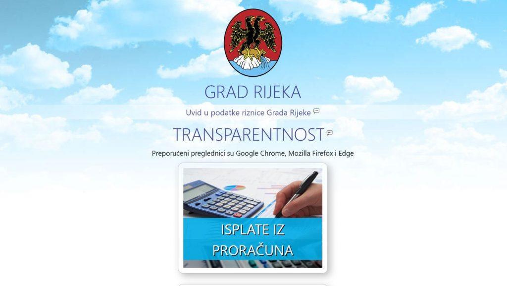 Aplikacija Otvoreni proračun