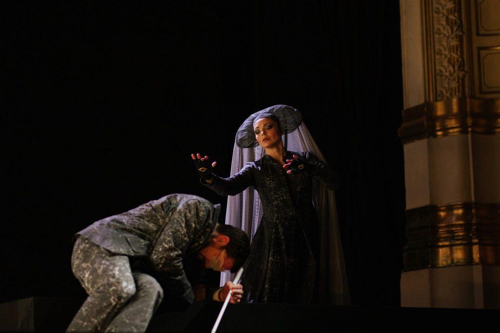 Domagoj Dorotić, Ivana Srbljan Opera po Kamovu Foto Vladimir Mudrovčić