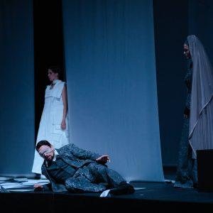 Domagoj Dorotić, Mojca Bitenc, Ivana Srbljan Opera po Kamovu / Foto: Vladimir Mudrovčić