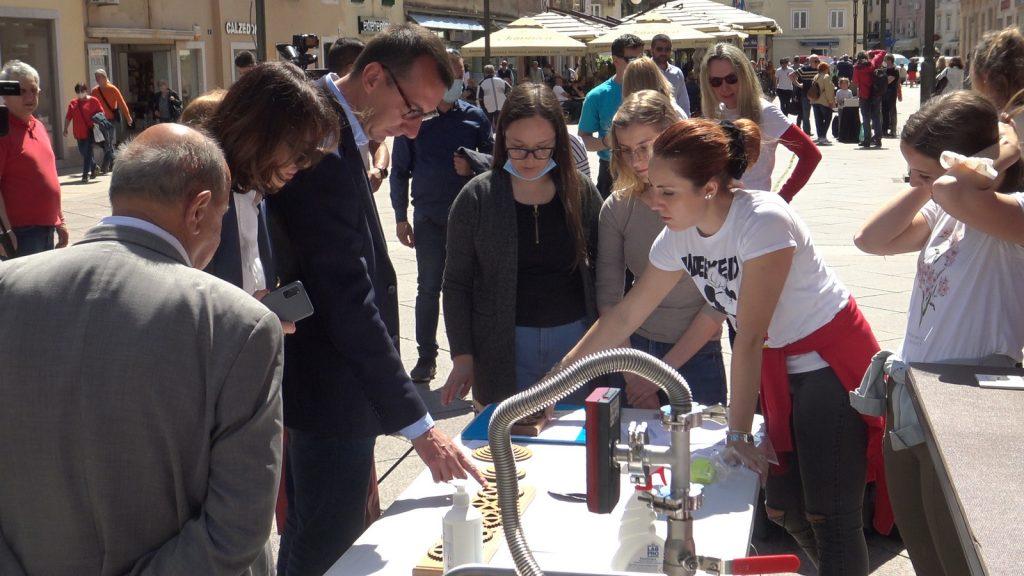 Zamjenik gradonačelnika Marko Filipović otvorio je Festival znanosti