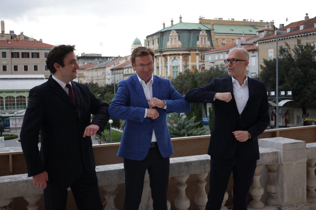 Filip Fak, Mirko Boch, Marin Blažević / Foto: press, HNK Ivana pl. Zajca