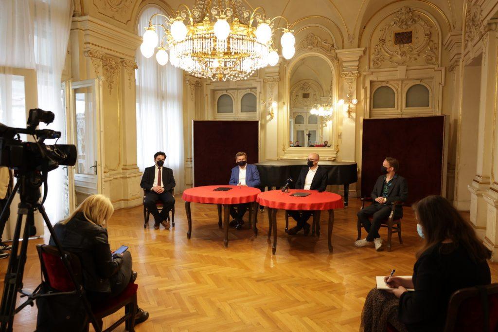 Filip Fak, Mirko Boch, Marin Blažević, Valentin Egel / Foto: press, HNK Ivana pl. Zajca
