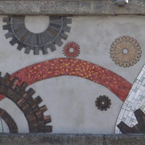 Volonterski mozaik Mehanizam