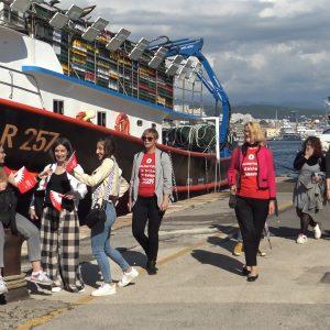 Volonteri EPK na Molo longu