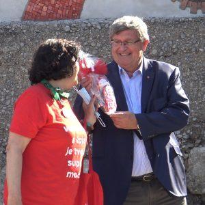 Volonterska EPK s gradonačelnikom Vojkom Obersnelom