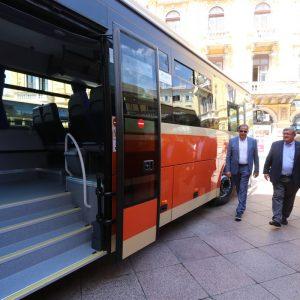 Novi autobusi vozit će na prigradskim linijama