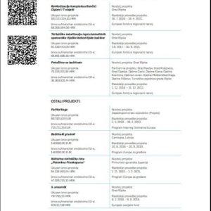 stranice Mandatnog izvješča s QR kodovima